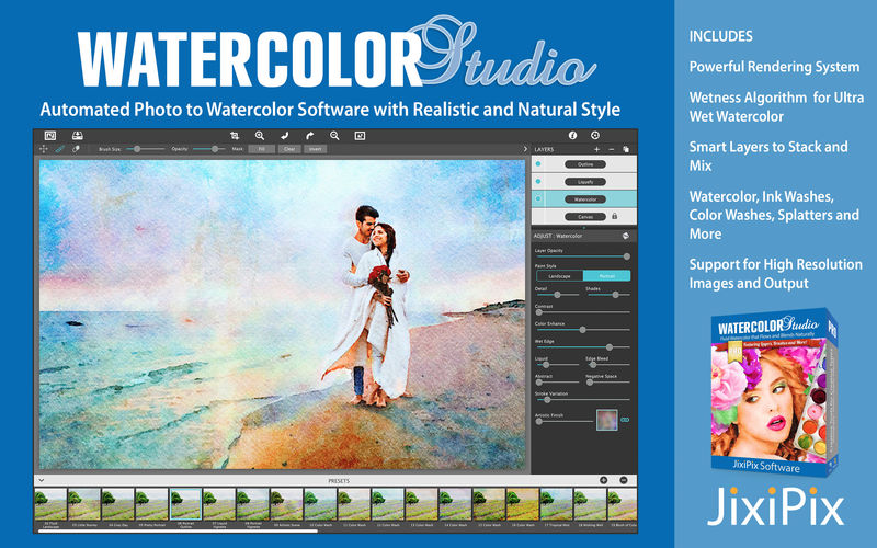 Jixipix Watercolor Studio 1.4.10
