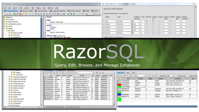 RazorSQL with Keygen full version download