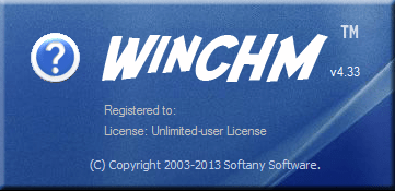 Softany WinCHM 5.45 incl patch [CrackingPatching]