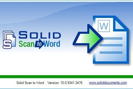 Solid Scan to Word 10.1.11528.4540