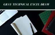 Gray Technical Excel Draw 3.0.9 Free Download