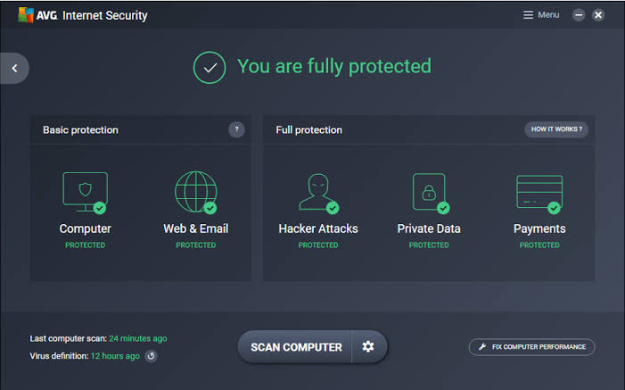 AVG Internet Security 2021 Serial Key With Crack Download