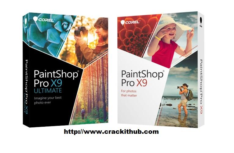 Corel Paintshop Pro x9 crack