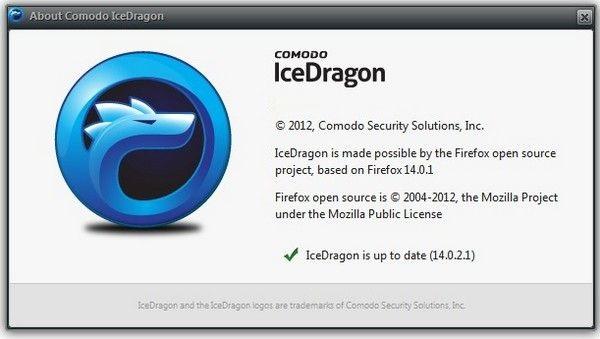 Comodo IceDragon 59.0.3.11 Crack