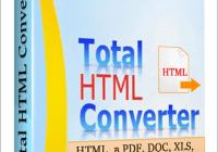 Total HTML Converter 5.1.0.166 Crack