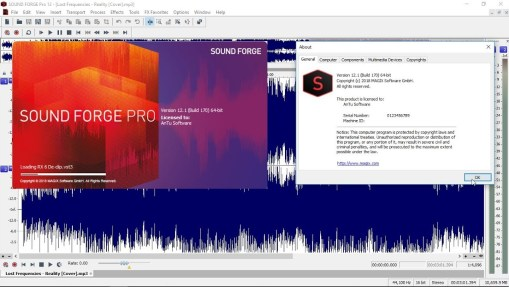 MAGIX Sound Forge Pro 12.1.0.170 Crack