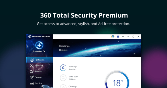 360 Total Security 10.2.0.1068 Crack