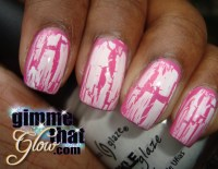 Crackle Nail Polish Designs
