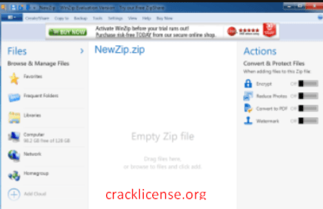 WinZip Free Download Full Version Crack Patch 2020