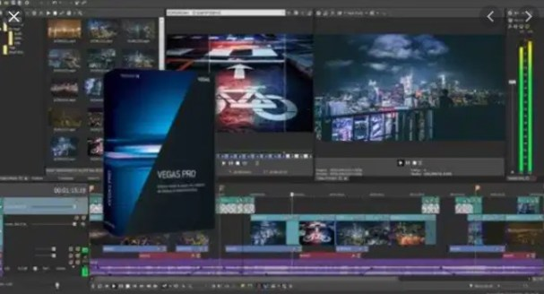 Sony Vegas Pro 16 Crack + Serial Number Full Download