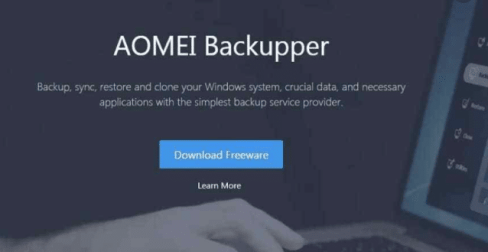 AOMEI Backupper 6.1 Crack Full + License Key [Latest]