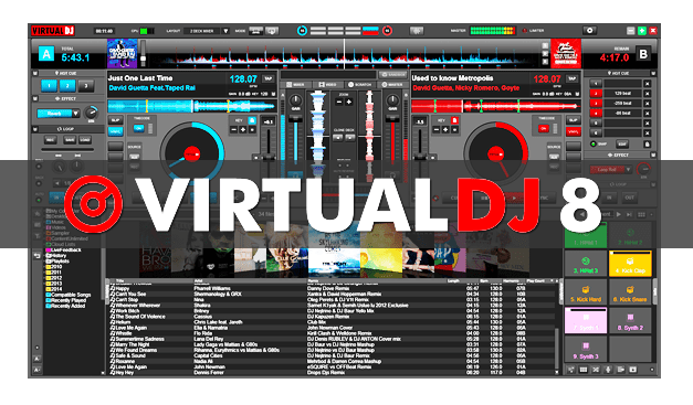 Virtual DJ 8.2 CRACK Free Download Full Version