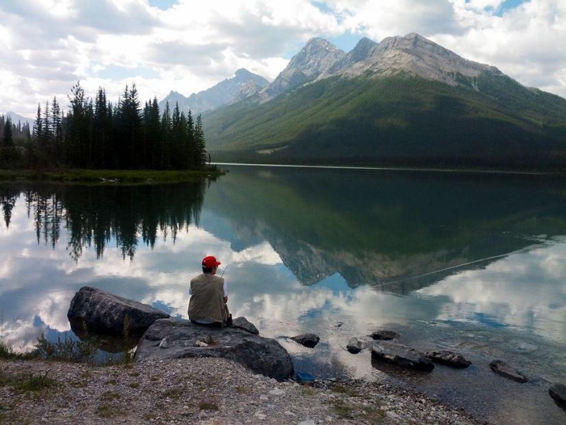 Fishing Spray Lakes