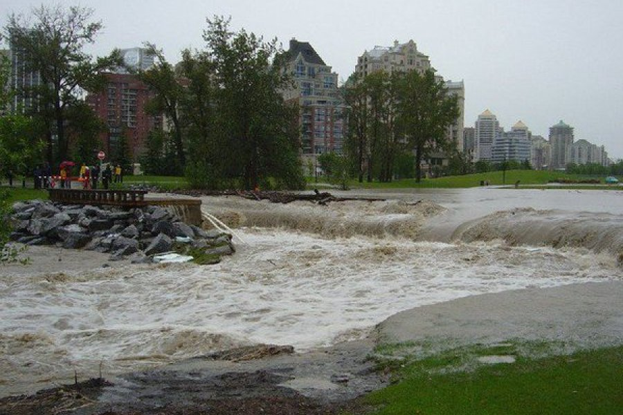 Flooding in Calgary 2005
