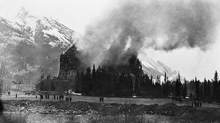 Fairmont Banff Springs Hotel Haunted fire