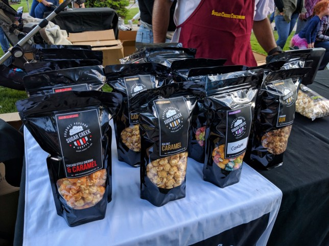 Calgary Night Market popcorn