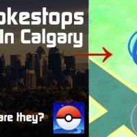 Where To Find PokemonGO Pokestops In Calgary