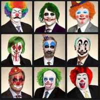 City of Calgary Counsellors As Clowns