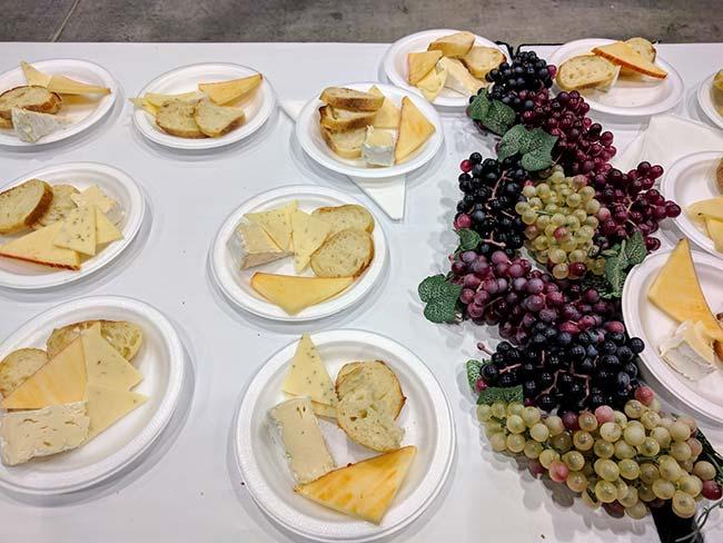 Grape Escape cheese plates
