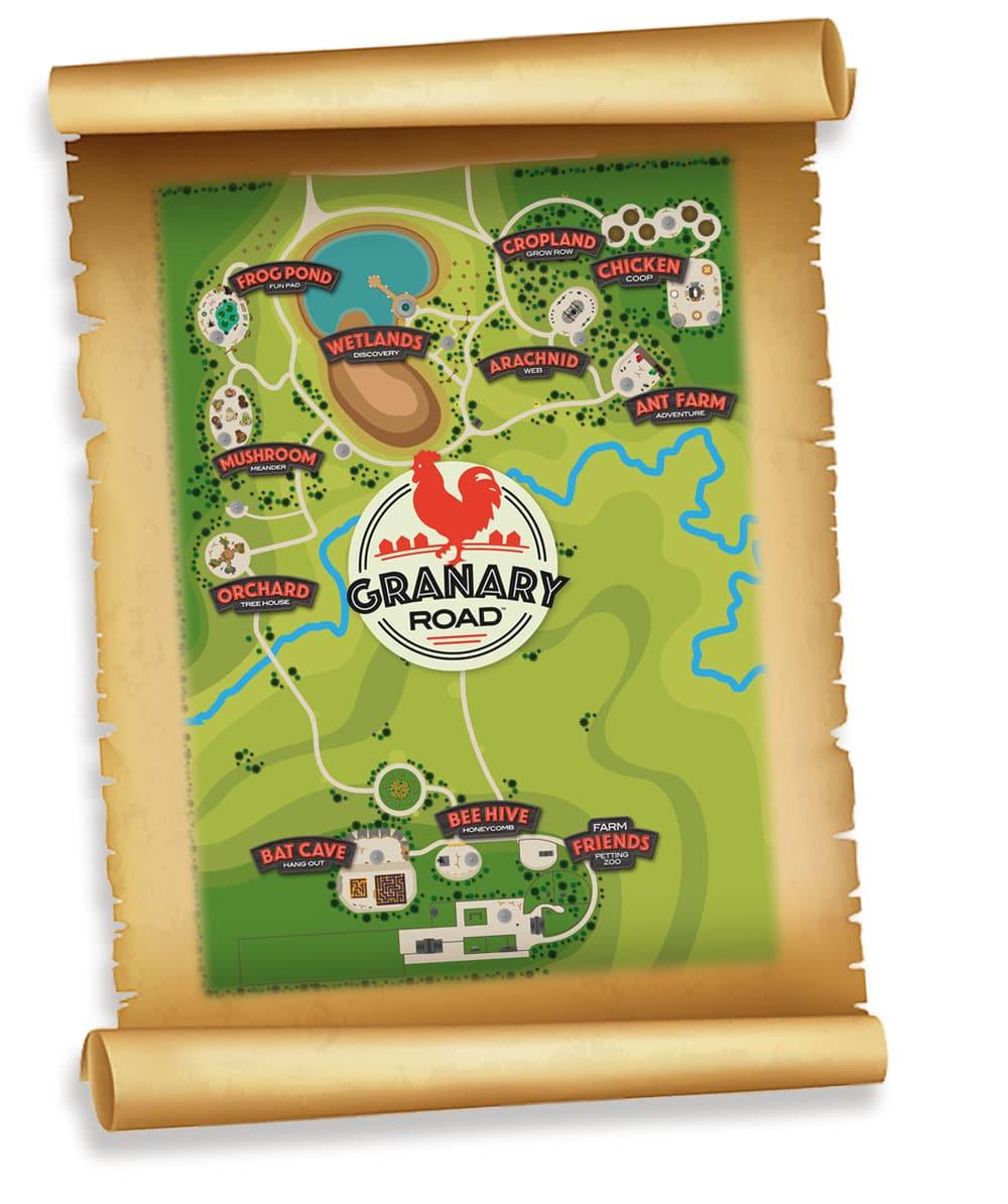 Granary Road Map