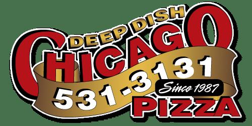 Chicago Deep Dish Pizza Logo