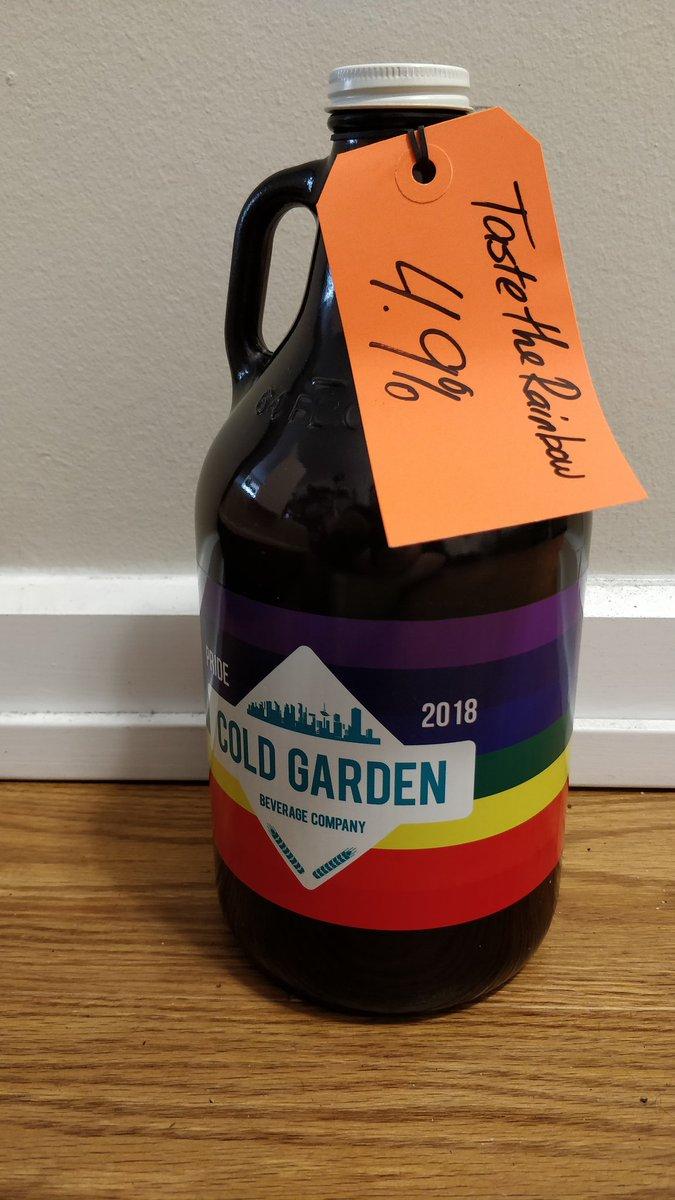 Cold Garden Growler
