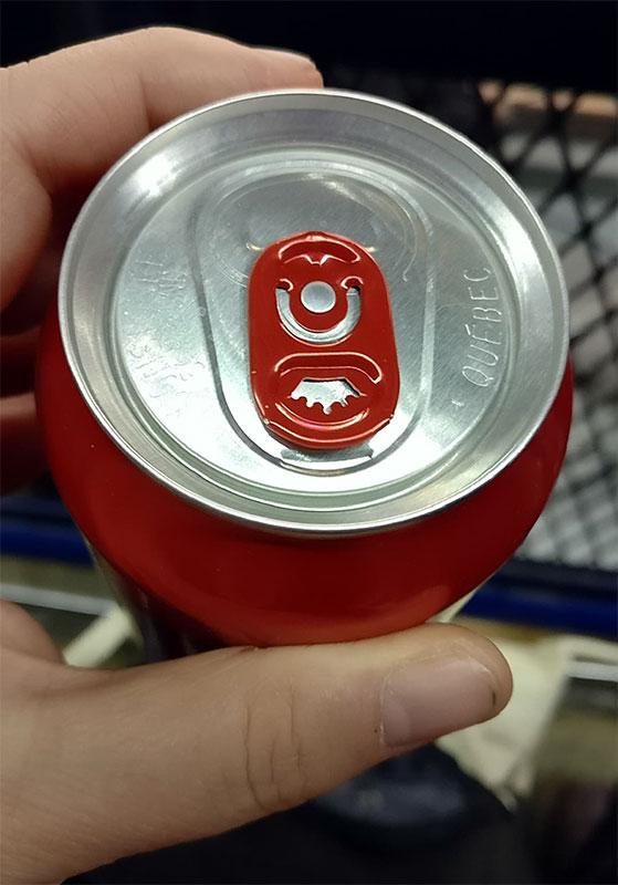 Iginla Beer Cans