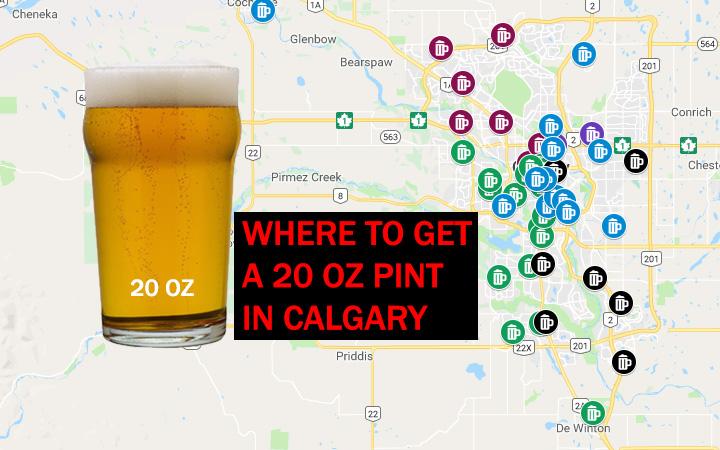 20 oz pint Calgary