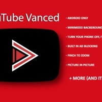 YouTube Vanced for Android. Background play, adblocking + more!