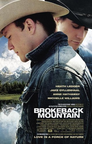 Calgary Queer Arts Society's Annual Fairy Tales Queer Film Festival Brokeback Mountain Movie Poster