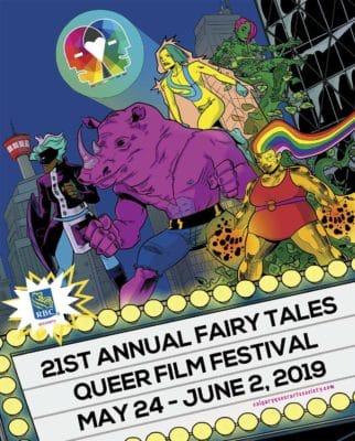 Fairy Tales Queer Film Festival 2019 poster