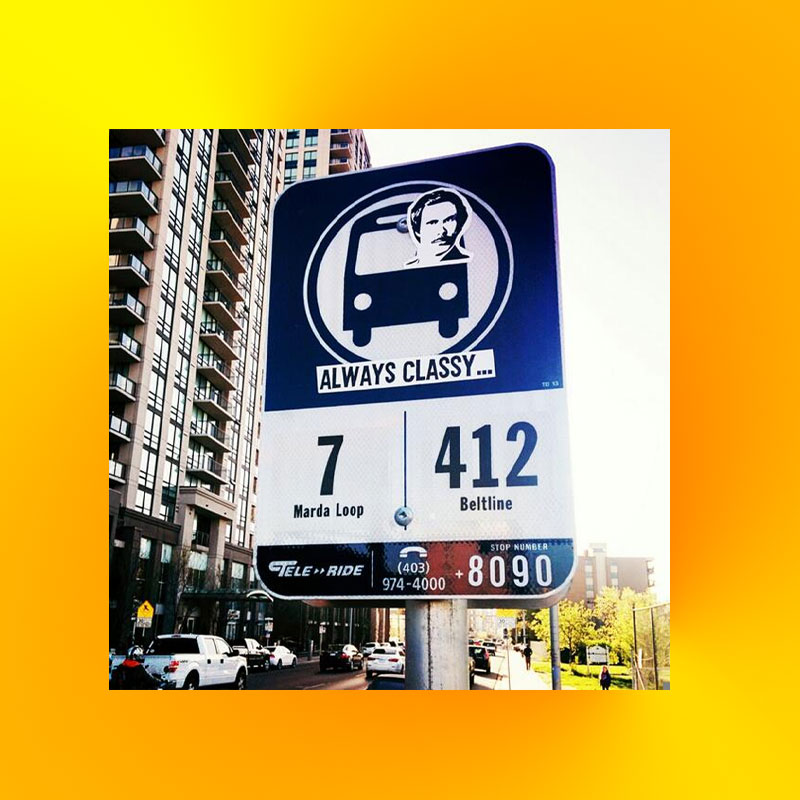 Calgary Transit Summer Changes Patch