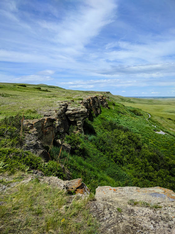 Head-Smashed-In Buffalo Jump Cliff