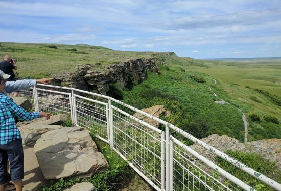 Head-Smashed-In Buffalo Jump Guide