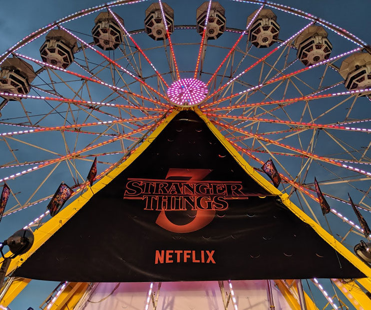 Stranger Things At The Calgary Stampede