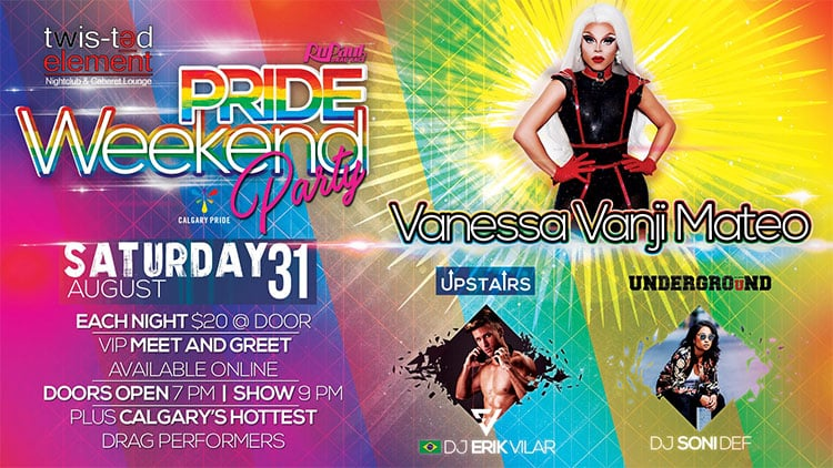Calgary Pride Events List 2019
