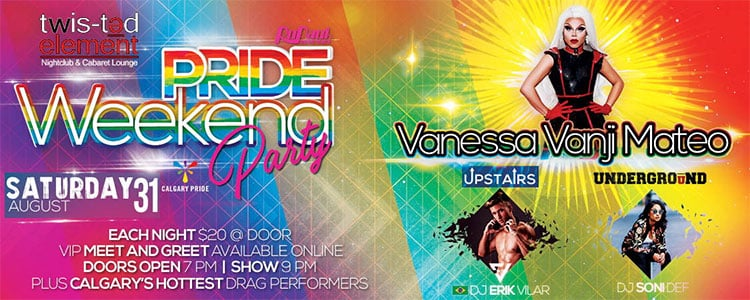 Pride Weekend Party At Twisted Element Saturday Aug 31