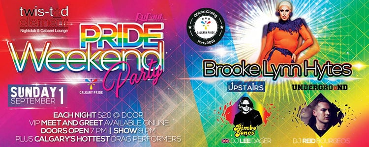 Pride Weekend Party At Twisted Element Sunday Sept 1