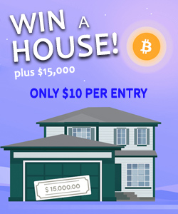 Sponsor: win a house! $10 per entry