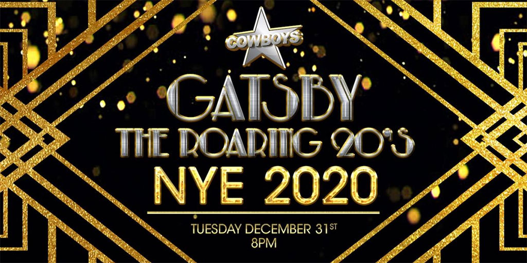 Things To do in Calgary for New Years Eve 2020 Cowboys Gatsby