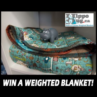 Win A Weighted Blanket From HippoHug!