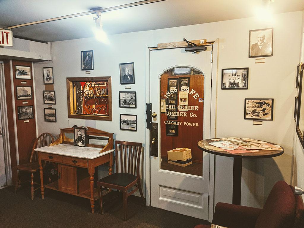 1886 Buffalo Cafe Eau Claire Lumber Mill Menu