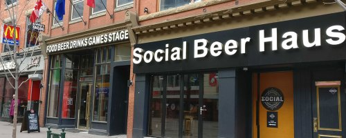 Social Beer Haus: 66 different flavours of craft beer on tap