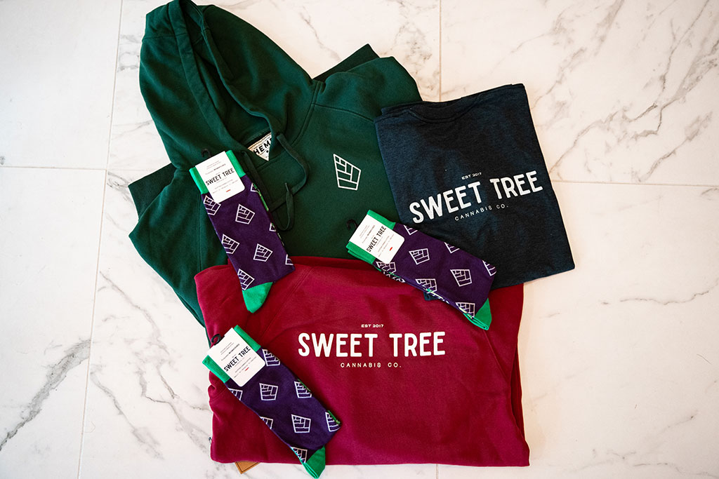 Sweet Tree Cannabis & YSS Corp t-shirts hoodies socks