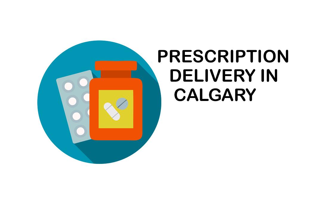 Prescription delivery in Calgary