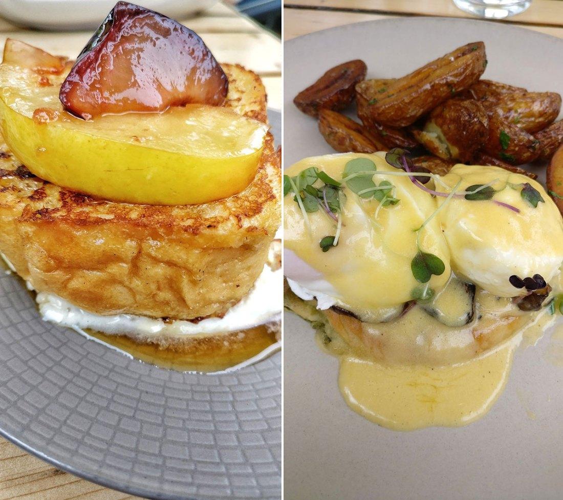 River Café at Prince's Island Park Hollandaise Breakfast food