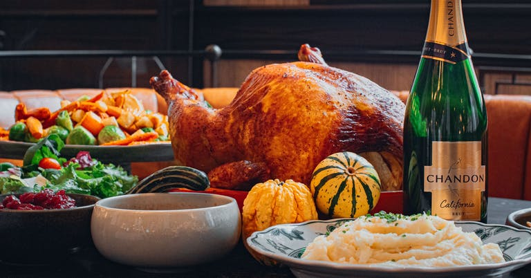 Hawthorn Dining Room Thanksgiving dinner 2020 in Calgary