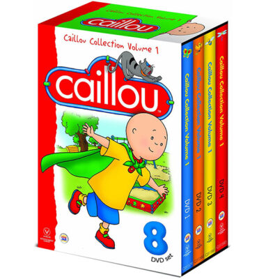 The Best Annoying Toys Caillou DVD set what an awful little jerk he is
