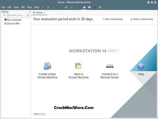 VMware Workstation 14 Crack