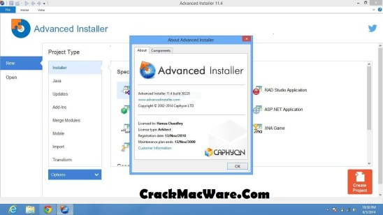 Advanced Installer 15.7 Crack
